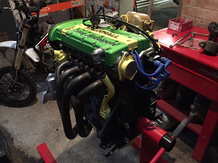 green yellow engine